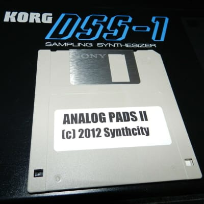 Korg DSS-1 Analog Pads Vol. II Patches on Floppy Disk