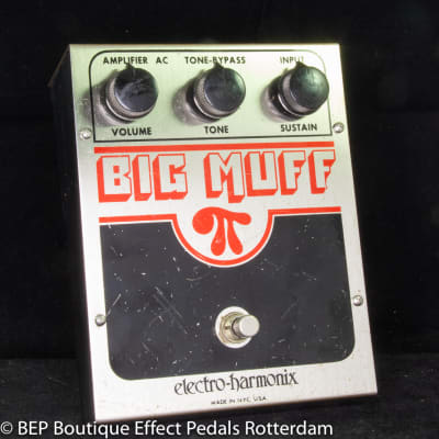 Electro-Harmonix EH 3003 Big Muff π V5 (Op Amp Tone Bypass) 1980 USA as used by Andy Martin - Reverb