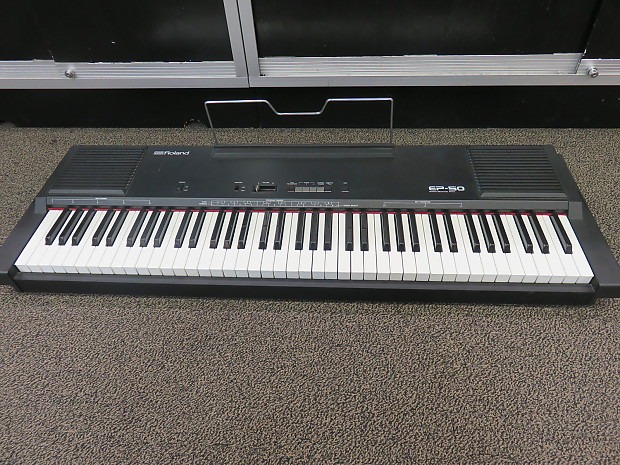 1980 39 s roland ep 50 76 semi weighted key electric piano reverb. Black Bedroom Furniture Sets. Home Design Ideas