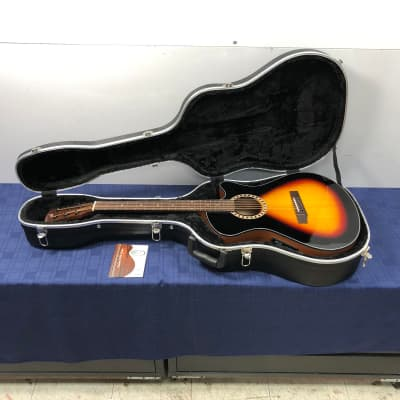 Andrew White EOS 102 3TS Acoustic Electric Guitar with Original Case for sale