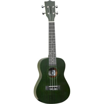 Tanglewood Tiare T3 Forest Green Stain Satin Concert Ukulele for sale