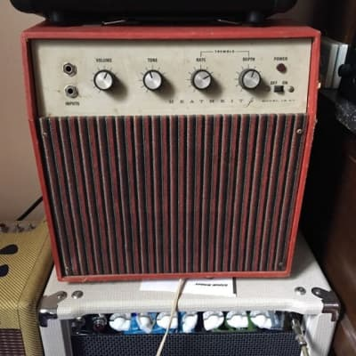 1965 Heathkit JK-37 Psychedelic Red RARE for sale