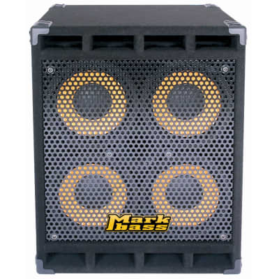 """Markbass MBL100038 Standard 104HF Front-Ported Neo 4x10"""" Bass Speaker Cabinet - 8 Ohm"""