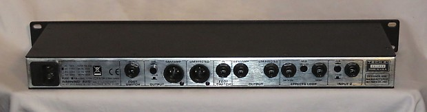 tech 21 sansamp rpm rack mount preamp guitar acoustic bass reverb. Black Bedroom Furniture Sets. Home Design Ideas