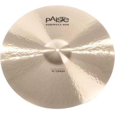"PAISTE 18"" Formula 602 Modern Essentials Crash"
