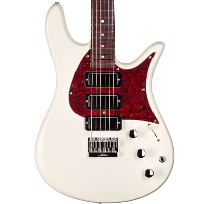 Fodera Olympic White Monarch S3 Guitar for sale