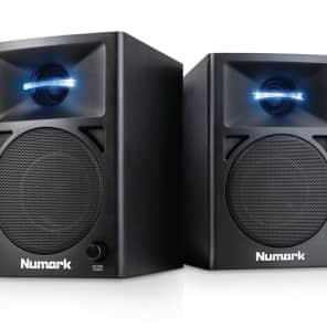 Numark N-Wave 360 Powered Desktop DJ Monitor Speakers