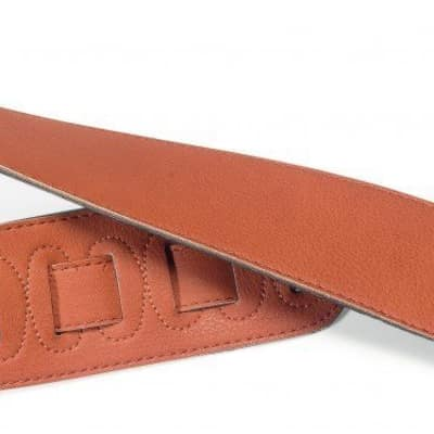 Stagg SFS 10 BRW Suede Style Guitar Strap, Brown for sale