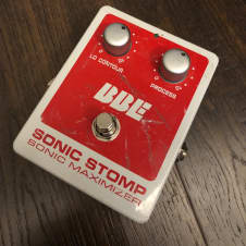 BBE Sonic Stomp Sonic Maximizer