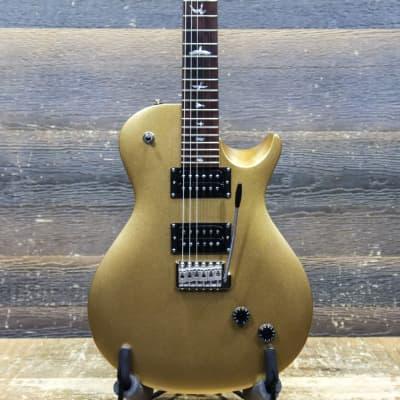PRS SE Santana Singlecut Trem PRS Tremolo Egyptian Gold Electric Guitar w/Bag #B44013