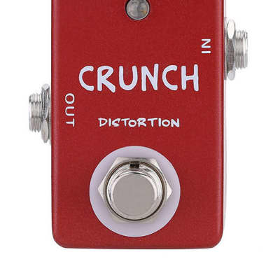 MOSKY Crunch Distrortion MINI Pedal MI Crunch Box Style Ships Free