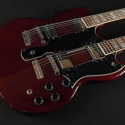 Gibson 1987 Double Neck EDS-1275 - Cherry - Excellent Condition VINTAGE for sale