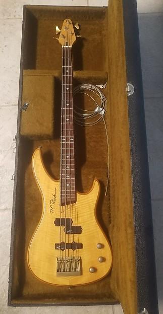 BC Rich 4-String Bass Guitar w/ EMG Select Pickups &   Reverb