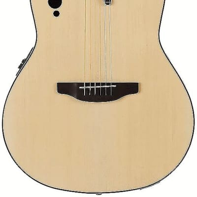 The Ovation AE44-4S Applause Elite AE44 Acoustic Electric features all the essentials of the classic