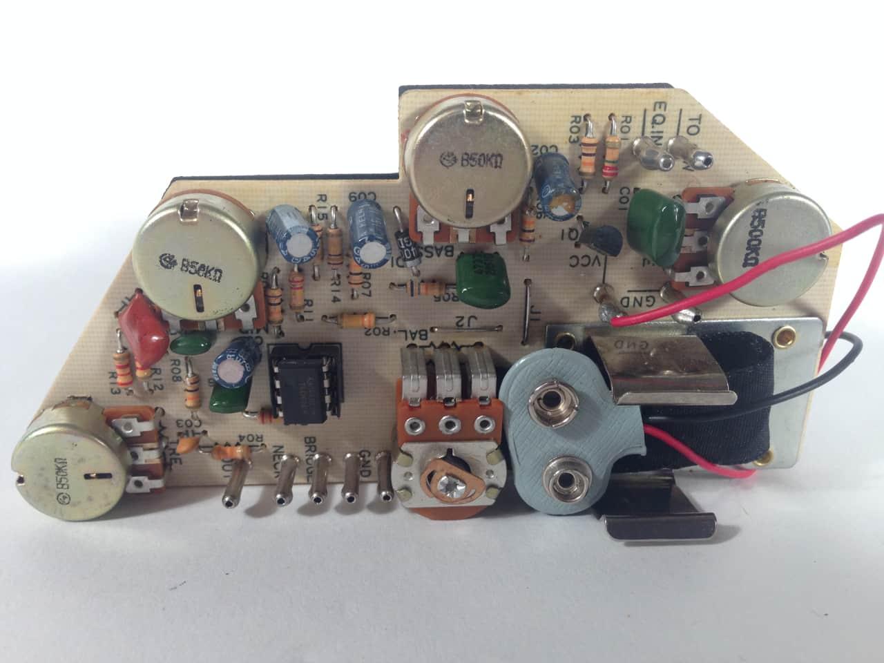 Ibanez Sr400  Sr405 Bass Circuit Board Preamp