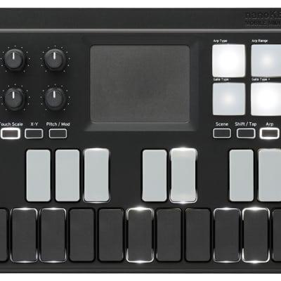 Korg NANOKEY-ST  25-Note Studio Bluetooth & USB MIDI Keyboard Controller