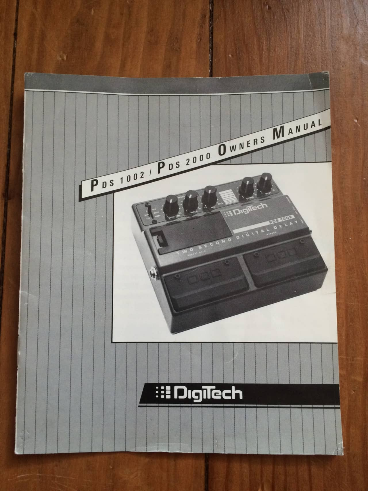 Digitech pds 1002 manual