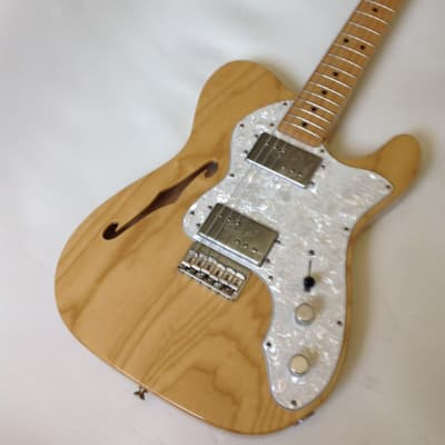 Fender Classic Series '72 Telecaster Thinline 1998 Natural for sale