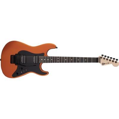 Charvel Pro-Mod So-Cal Style 1 HH FR E, Ebony Fingerboard, Satin Orange Blaze for sale