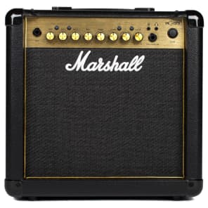 "Marshall MG15GFX 1x8"" 15 Watt Guitar Combo with Effects"