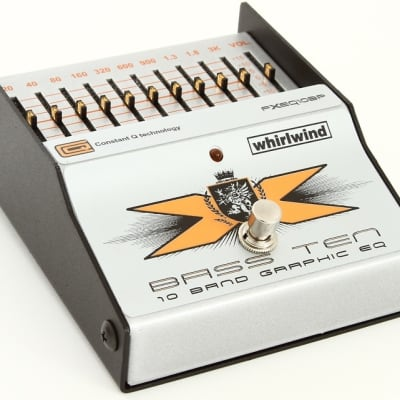 Whirlwind Bass Ten 10-band Bass EQ Pedal for sale