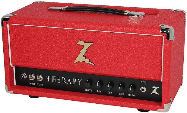 Dr Z Therapy Head Red Humbucker Music Reverb