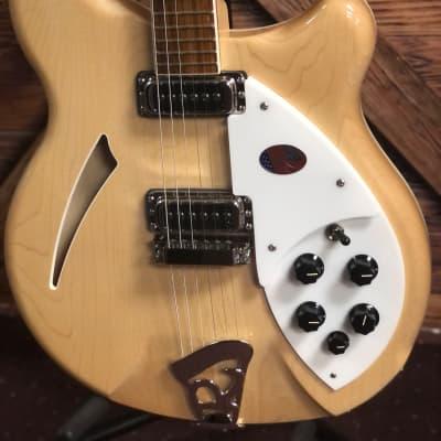 Brand New Rickenbacker 360, 2021 MapleGlo Electric Guitar
