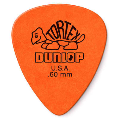 Dunlop .60mm Standard Tortex Pick (12-Pack)