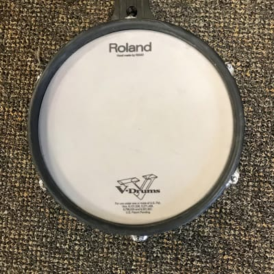 USED Roland PD-100 Black Electronic V-Pad Mesh Drum Trigger