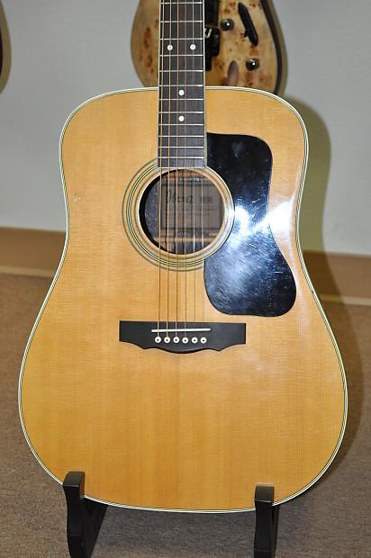 vintage 70s ibanez model 2846 acoustic dreadnought guitar reverb. Black Bedroom Furniture Sets. Home Design Ideas