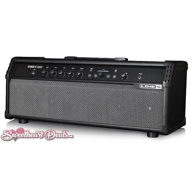 line 6 spider v 240hc modeling stereo electric guitar reverb. Black Bedroom Furniture Sets. Home Design Ideas