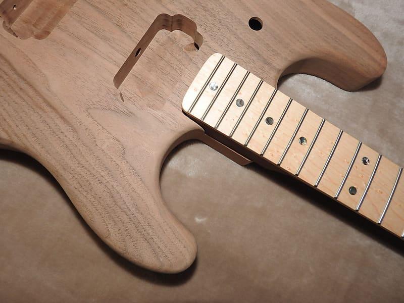 """24.75/"""" scale. Birdseye Maple Fretboard"""