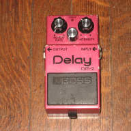 Boss DM-2 Analog Delay Pro Serviced Guitar Effect Pedal MIJapan 1982 Roland