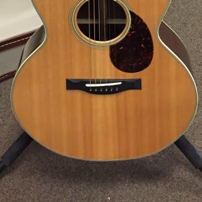Santa Cruz Model-F 972 Custom Cutaway Natural for sale