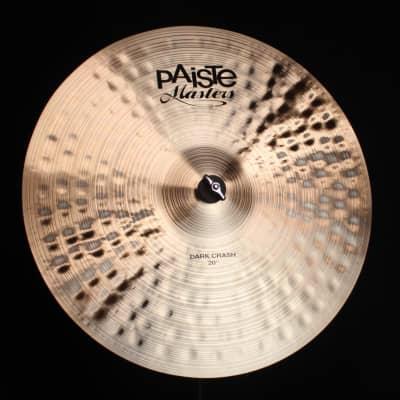 "Paiste 20"" Masters Dark Crash - 1806g (video demo)"