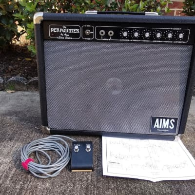 Vintage 1973 Aims Performer Guitar Amplifier - 1x12 Combo - Reverb and Tremolo for sale