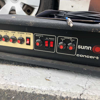Sunn Concert Lead Guitar Amp Head for sale