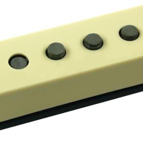 Seymour Duncan SSL-5 Custom Staggered Strat Neck/Bridge Pickup, Cream No Logo, Left Hand
