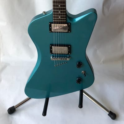 RARE Epiphone Slasher in Light Metallic Blue w/ Case for sale