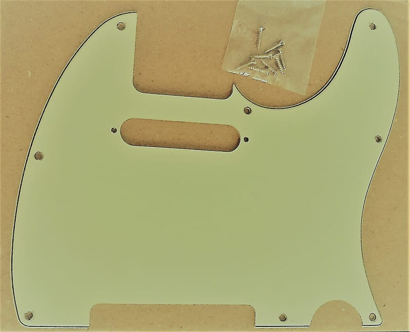NEW 3-Ply 8 Holes MINT GREEN Pickguard For Fender Tele