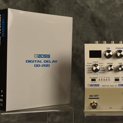 Boss DD-200 Digital Delay Pedal 32 bit 96 khz Deluxe 12 modes w FREE Patch Cable & Same Day Shipping