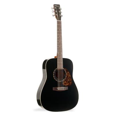 Norman B18 Black Cedar Protege Acoustic Guitar for sale