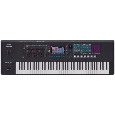 Roland Fantom 7 Music Synthesizer Workstation Keyboard, 76-Key