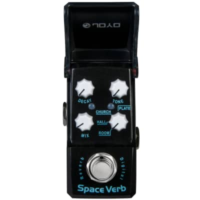 Joyo Ironman JF-317 Space Verb Digital Reverb Mini Guitar Effect Pedal Ships Free