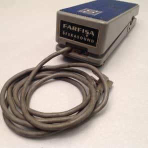 Farfisa Sferasound (vintage RARE pedal, tremolo/vibrato/sci-fi swirly sounds) for sale