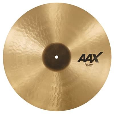 "Sabian 19"" AAX Thin Crash Cymbal"