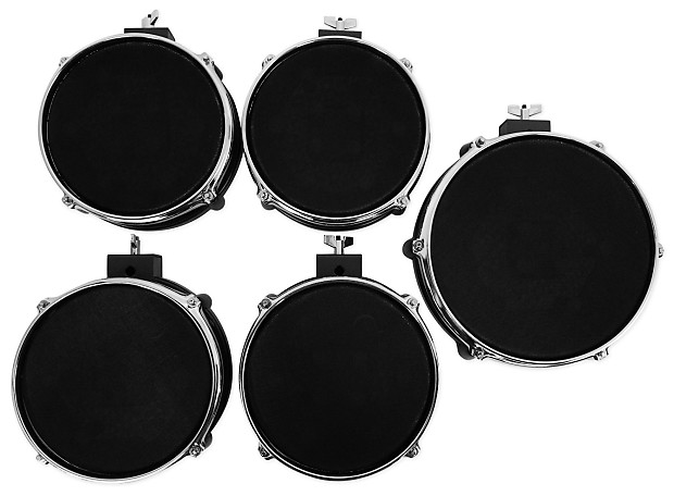 alesis dm10 studio mesh kit 6 piece electronic drum set w reverb. Black Bedroom Furniture Sets. Home Design Ideas