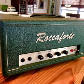 Roccaforte Custom 18 Plexi Style Guitar Amp for sale