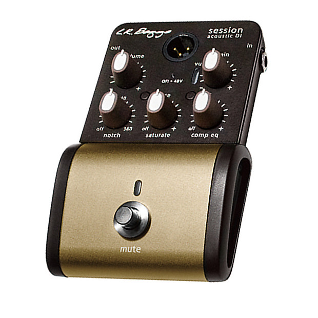 lr baggs session di acoustic guitar preamp direct input pedal reverb. Black Bedroom Furniture Sets. Home Design Ideas