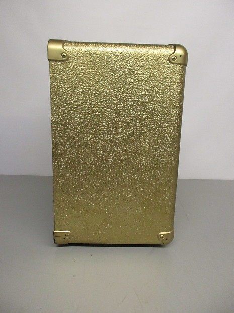 """Marshall MG 1x10"""" Cabinet, Unloaded Gold 